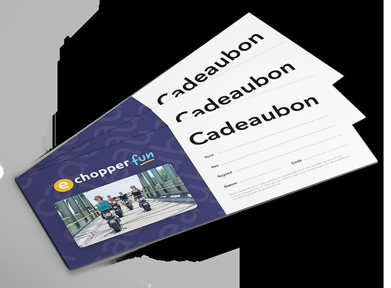 E-chopper Fun Cadeaubon